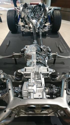 GT-R 足回り ドライブライン エンジン カットモデル