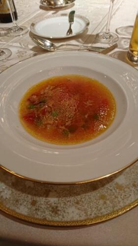 アサリとカリフラワーの地中海風スープ