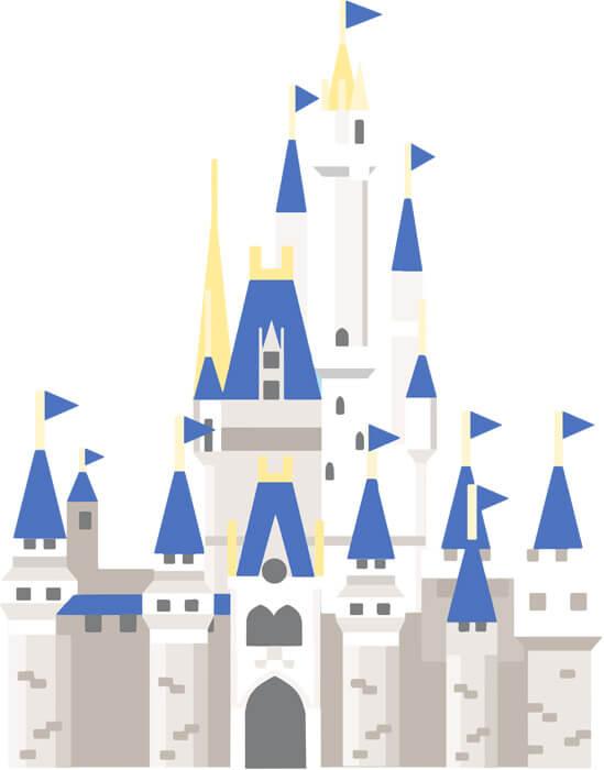 ディズニー シンデレラ城