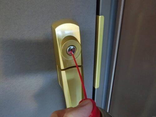 トライファストルブで玄関の鍵をなめらかに