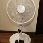 アイリスオーヤマのリビング扇風機を購入