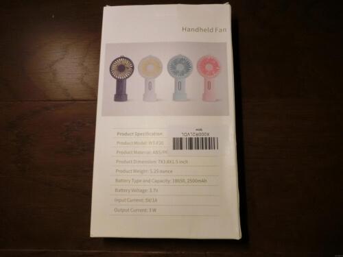【暑さ対策】携帯扇風機(その2)を追加購入!!
