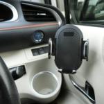 交通法改正で車用スマホホルダーをどこに付けるか