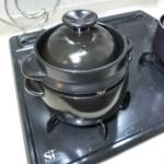 【自炊】土鍋で少量でも美味しいご飯を炊く「黒楽 かまどご飯釜」