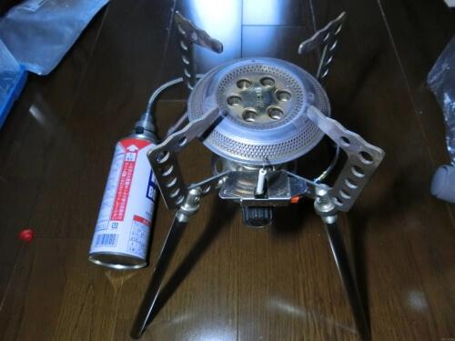 キャンピングムーン CB缶⇄OD缶 互換アダプター&マルチガスホースライン
