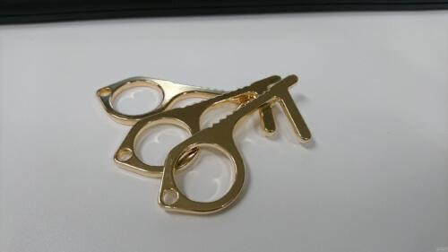 【コロナ対策】銅製の非接触フックで潔癖が捗る
