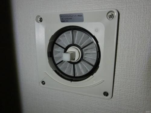 Panasonicの給気口を高機能化(VB-YA100PM)