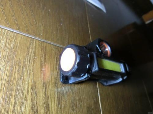 【災害対策】充電タイプのLEDヘッドライトを購入