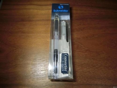 シュナイダーの細軸万年筆を購入